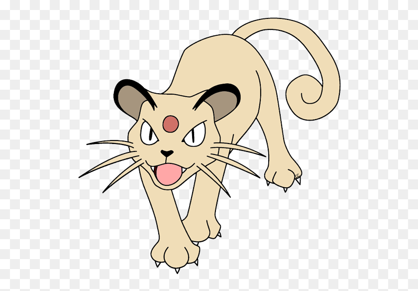 Pokemon Clip Art Cartoon Clip Art - Meowth PNG