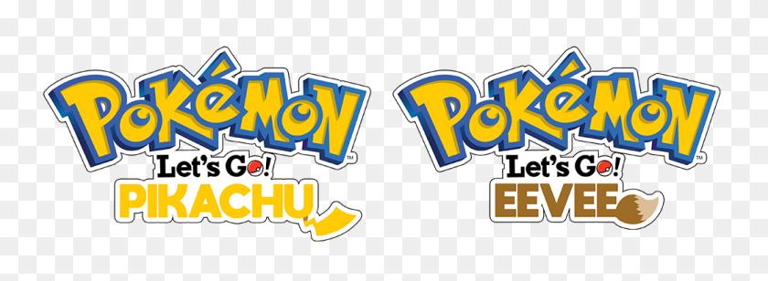 Pokemon Let's Go! Pikachu Eevee - Pokemon Go Logo PNG