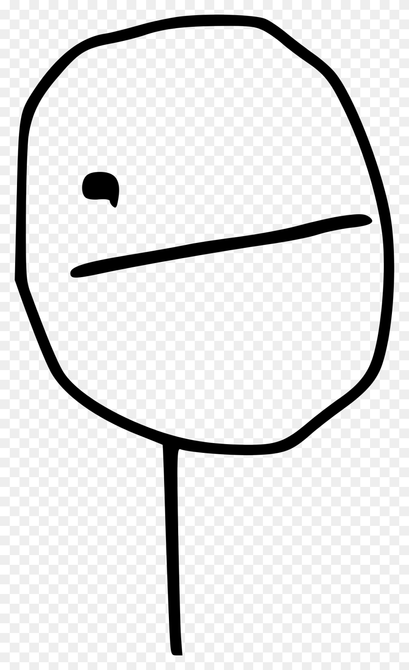 Poker Face Meme Icons Png - Meme Face PNG