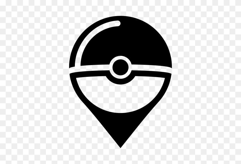 Pokestop, Pokemon Go, Pokemongo, Game, Pokeball, Pokemon Icon - Pokemon Ball Clipart