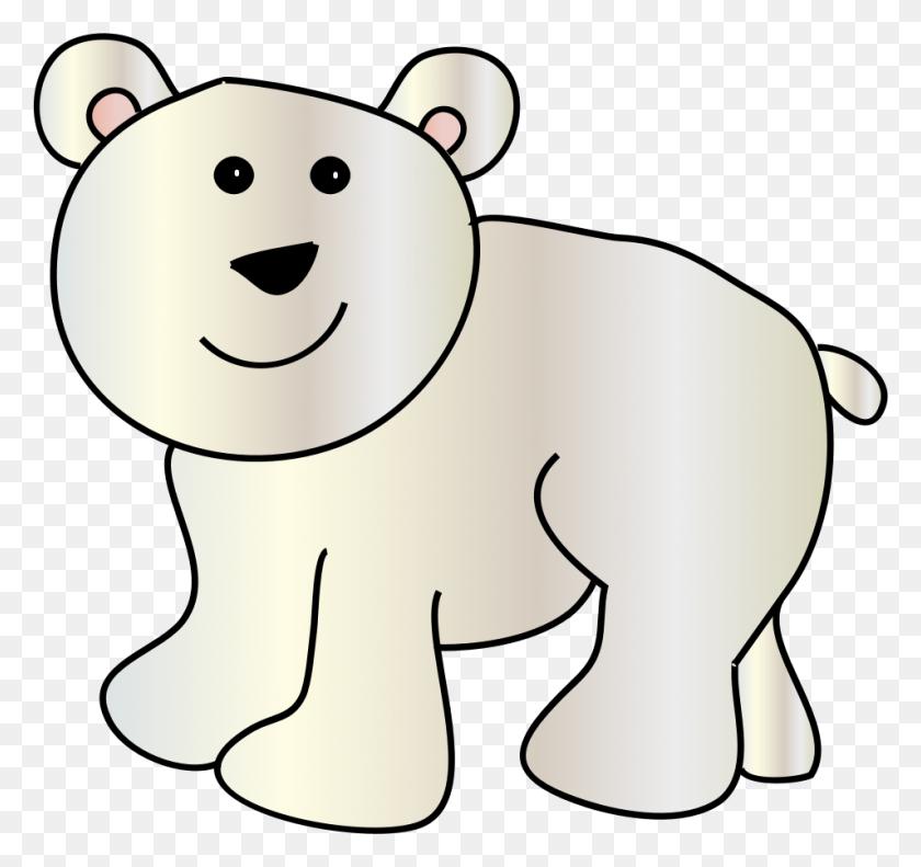 Polar Bear Clip Art Pictures Of Polar Bears - North Pole Clipart