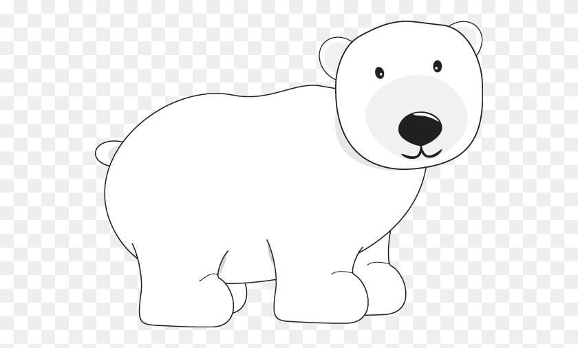 564x446 Polar Bear Clipart Polar Bear Bear Clip Art Polar Bear - Teddy Bear Clipart PNG