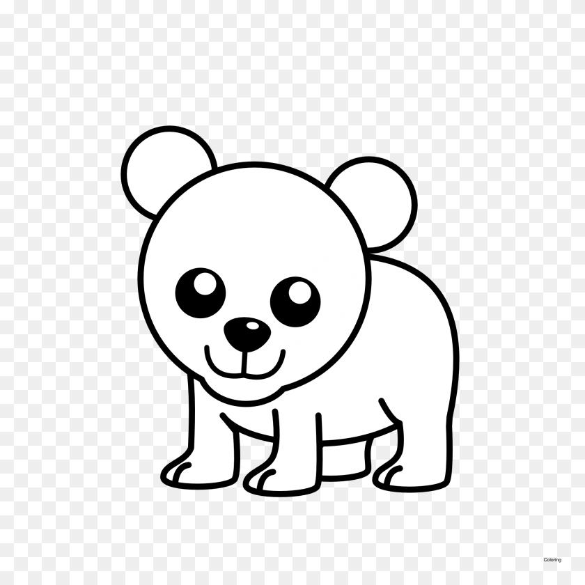 Polar Bear Cute Clipart - Polar Express Train Clip Art