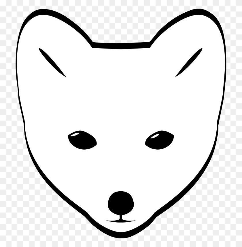 Polar Fox Clipart Polar - North Pole Clipart