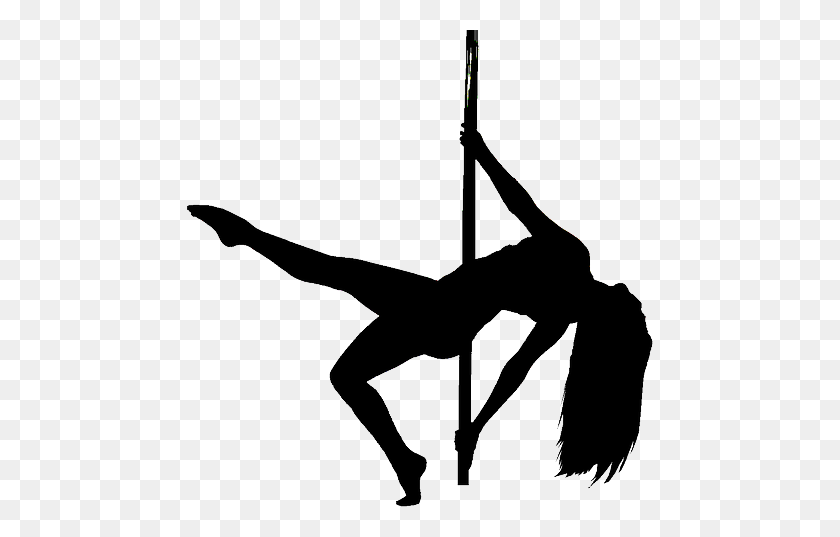 10 Pole Dancer Silhouette - Dance - Free Transparent PNG Clipart Images  Download