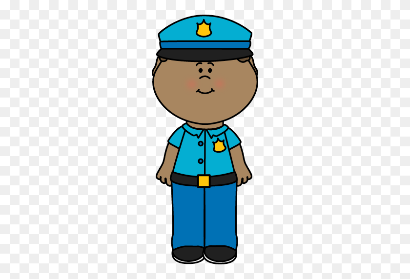 Police Boy Cliparts - Police Badge Clipart