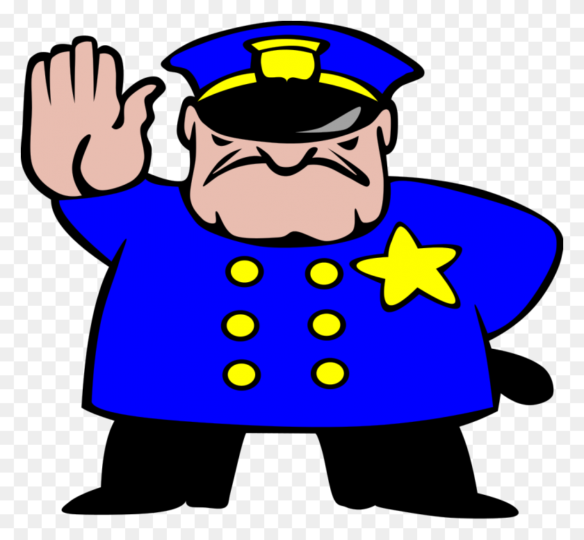 Police Man Ganson - Mad Man Clipart