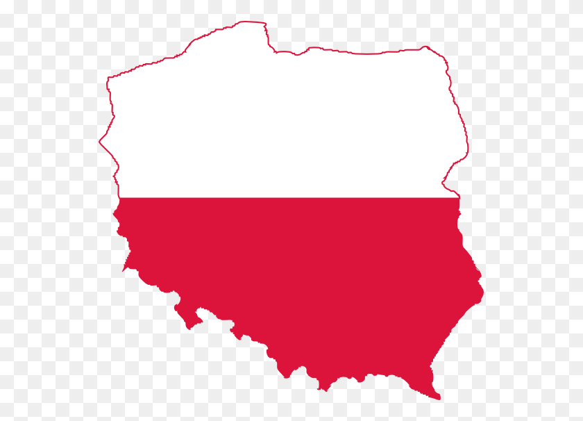 Polish Flag Clip Art - Polish Flag Clipart