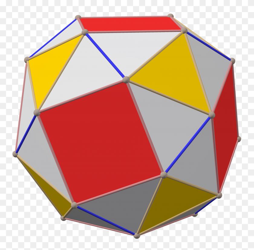 Polyhedron Great Rhombi Subsolid Snub Right Maxmatch - Sub PNG
