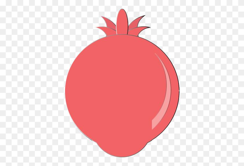 Pomegranate Icon - Pomegranate Clipart