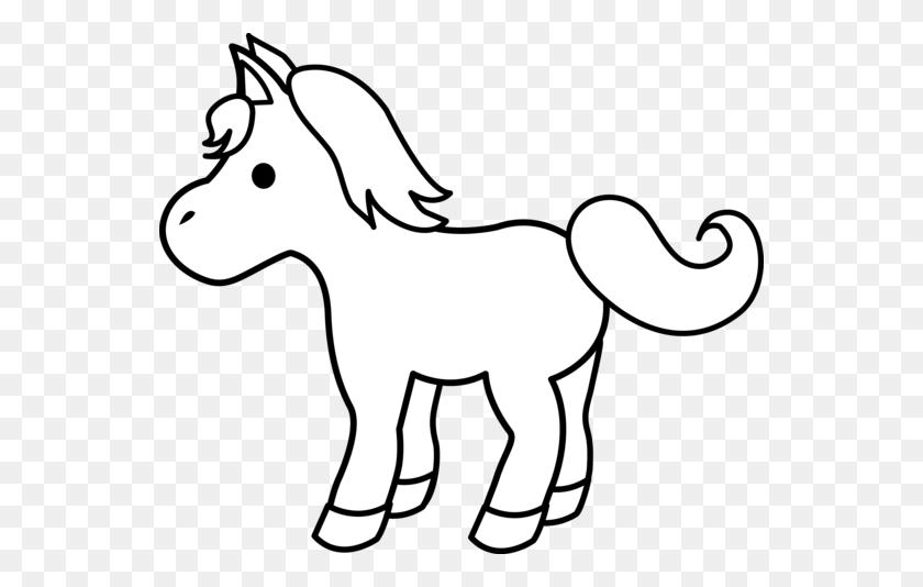 Pony Cliparts - Pony Clipart Black And White