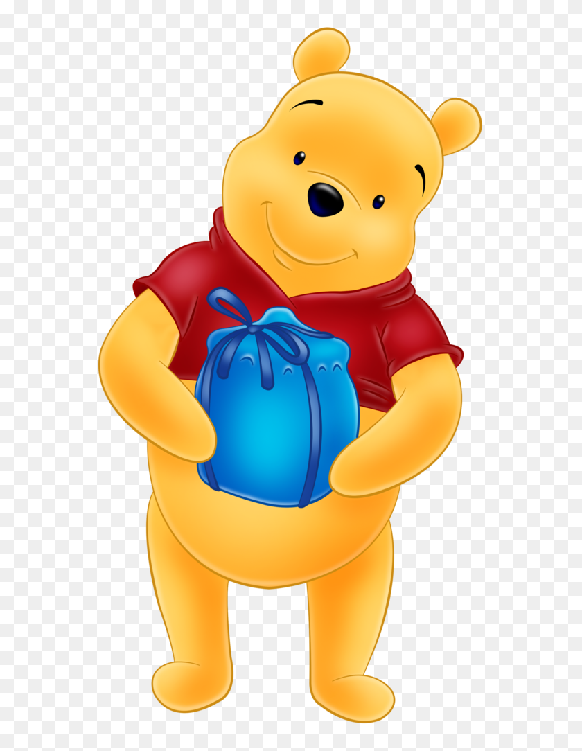 Pooh - Pooh Bear Clipart