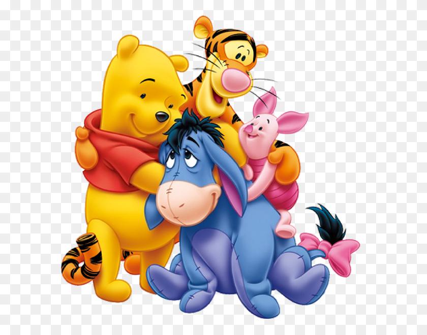 600x600 Pooh Bear Clip Art - Pooh Bear Clipart