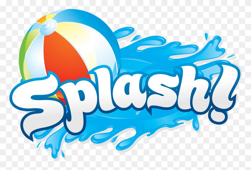 3040x1984 Pool Party Clip Art Cliparts - Beach Ball Clipart