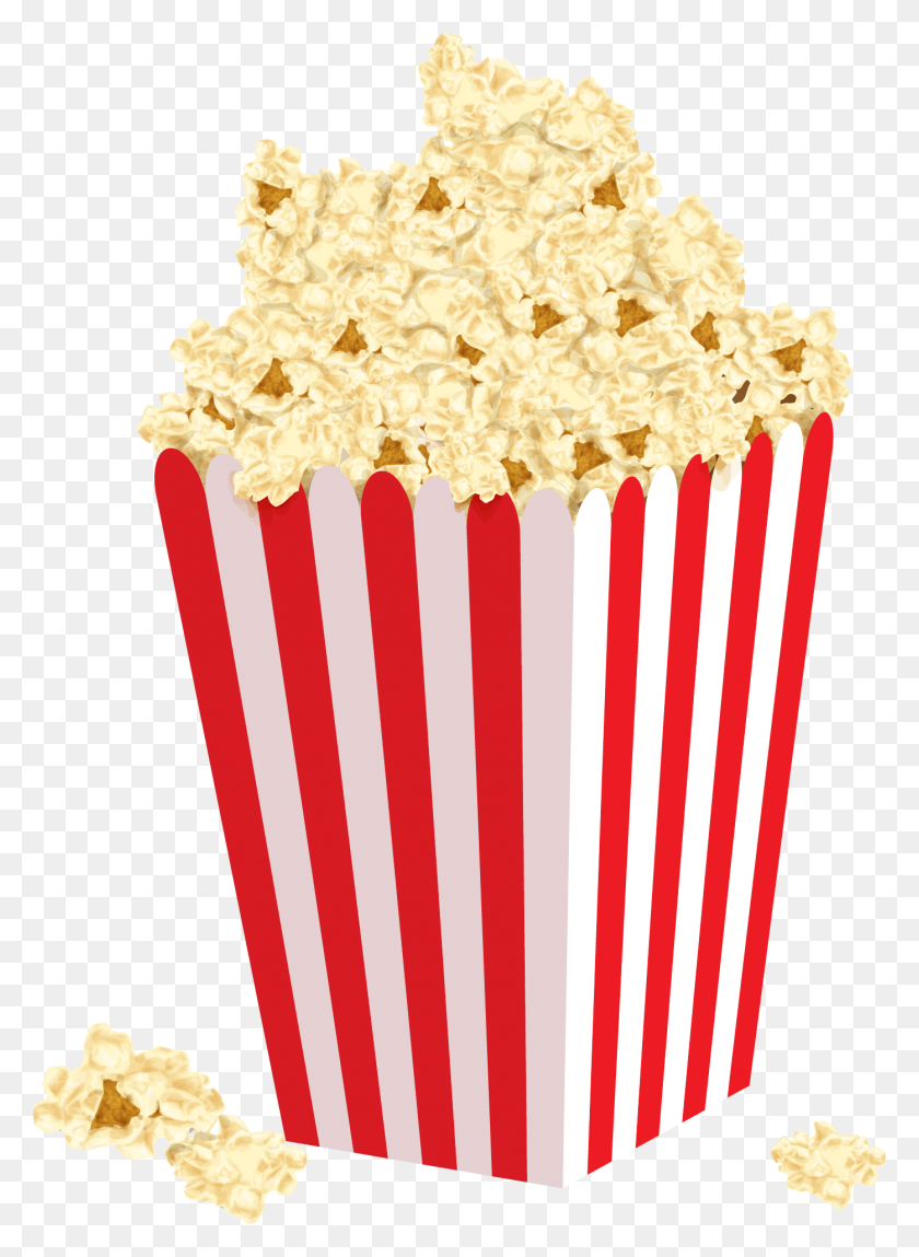 Popcorn Box Clipart Png - Popcorn Box Clipart