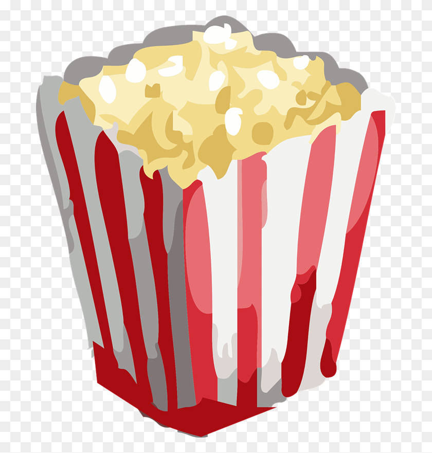 Popcorn Clip Art Clipart Images - Movie Night Clipart