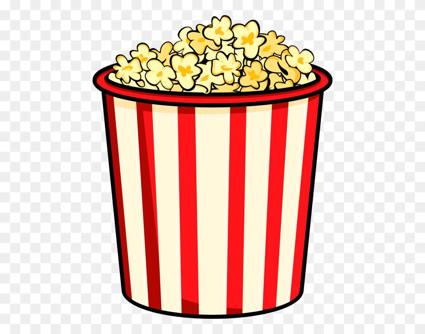 Popcorn Clip Art Free - Movie Night Clipart