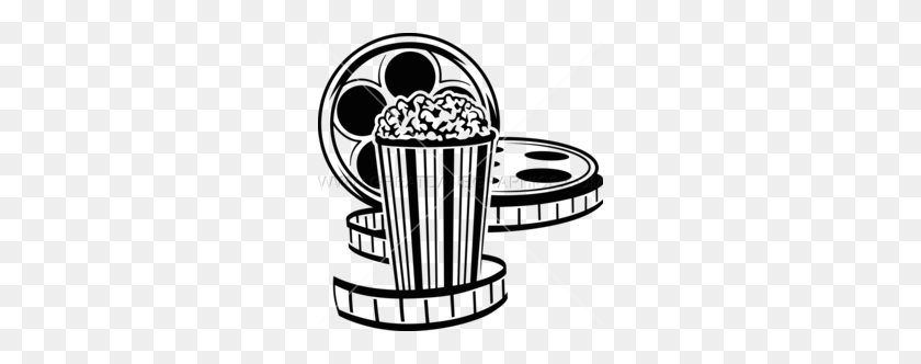 Popcorn Movie Reel Clipart Reel Clipart Stunning Free