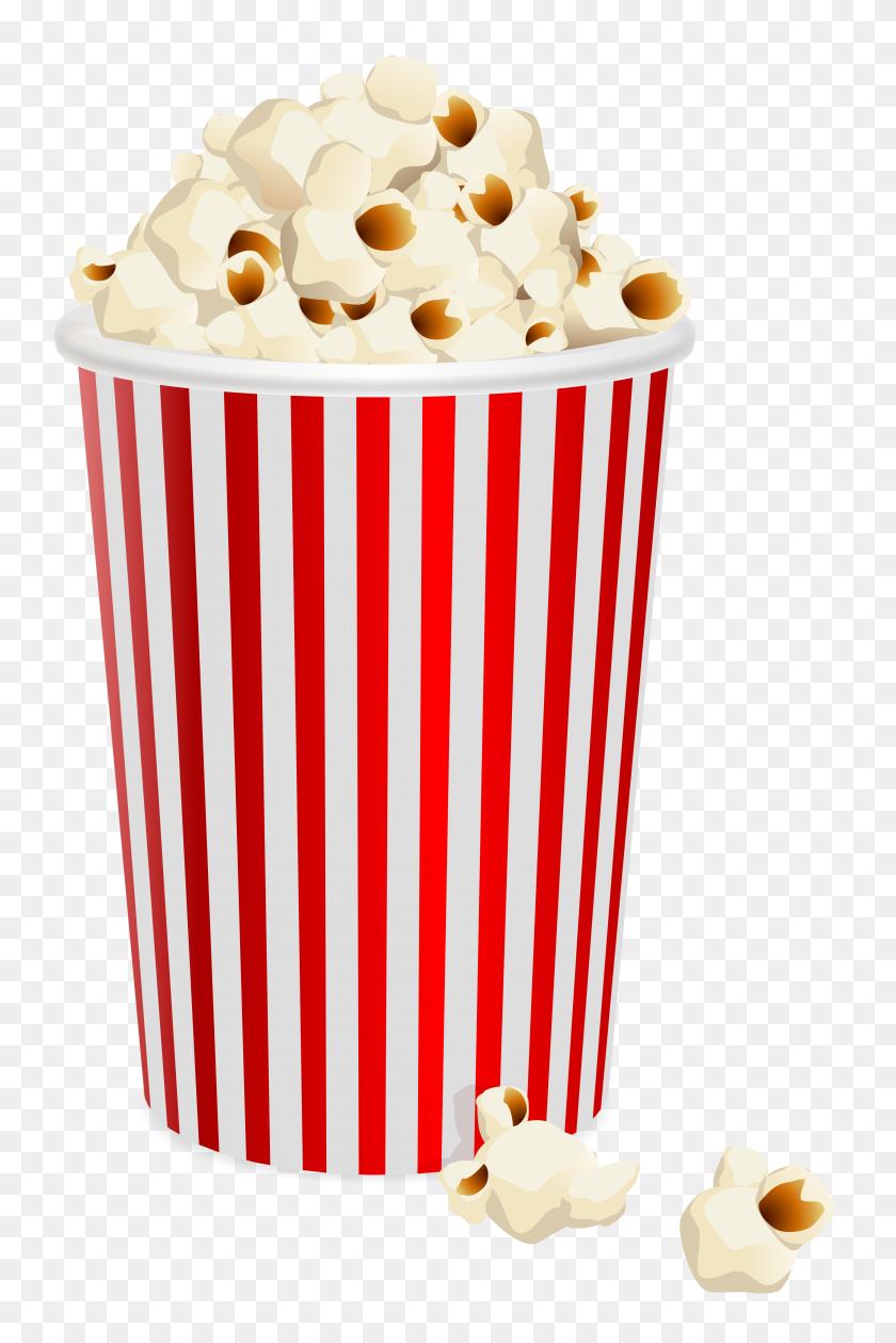 Popcorns Transparent Png Clip Art - Recipe Clipart