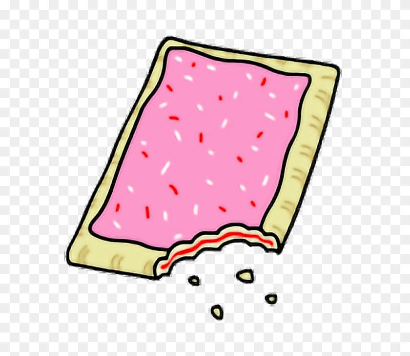 Poptart Cute Strawberry Strawberrypoptart Kawaii Cartoo - Pop Tart Clipart