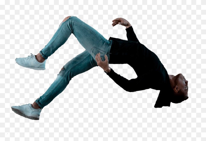 Popular And Trending Falling Stickers - Man Falling PNG