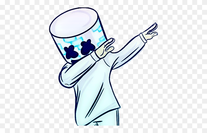 Popular And Trending Marshmello Stickers - Marshmello PNG