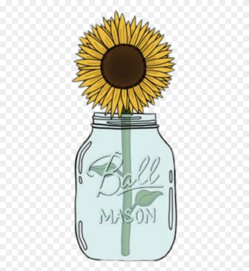 Popular And Trending Sfondi Tum Blr Stickers - Mason Jar Clip Art