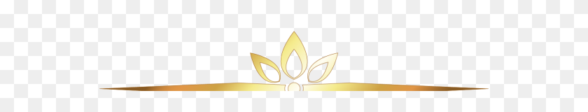 Popular And Trending Textline Stickers - Gold Divider PNG