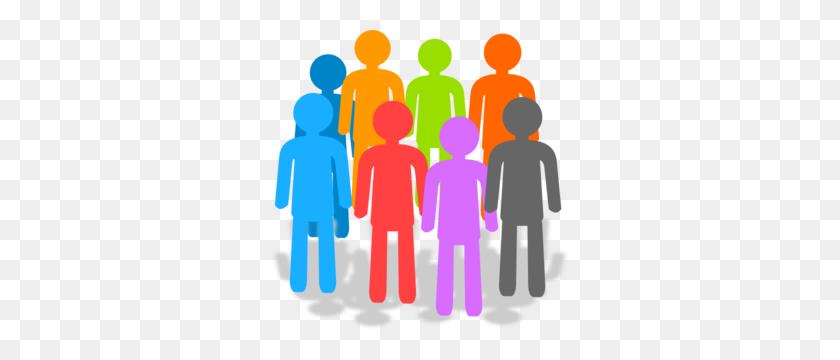 Population Clip Art - Team Clipart