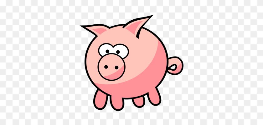 Porky Pig Vietnamese Pot Bellied Cartoon Drawing - Cartoon Pig Clipart