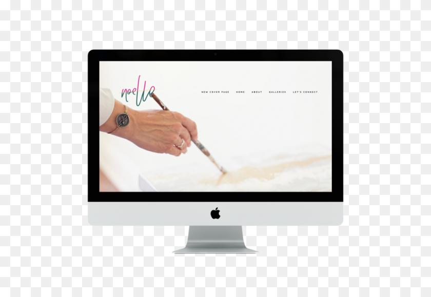 Portfolio Gallery Magnolia Ink Branding + Squarespace Website - Magnolia PNG