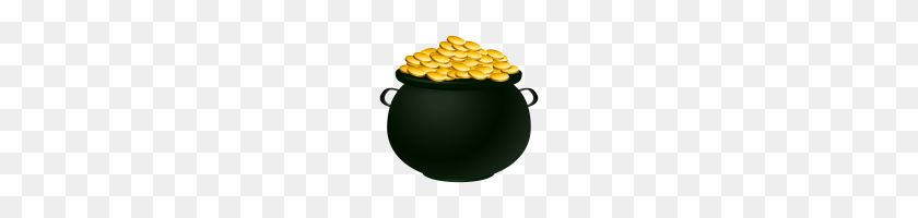 Pot Of Gold Clip Art Pot Of Gold Clipart Pot Of Gold Coins Free - Gold Coin Clipart