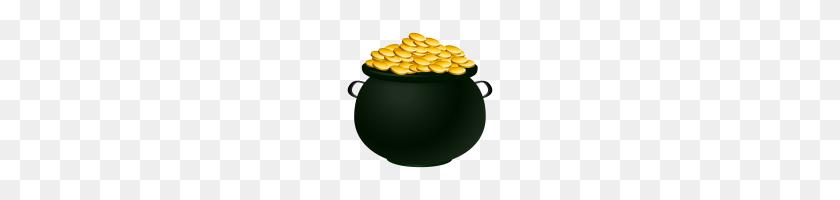 Pot Of Gold Clip Art Pot Of Gold Clipart Pot Of Gold Coins Free - Gold Coin Clipart