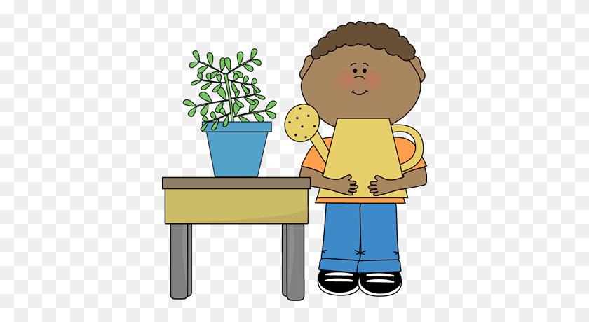 Pot Plant Clipart Kid Plant - Plant Pot Clipart