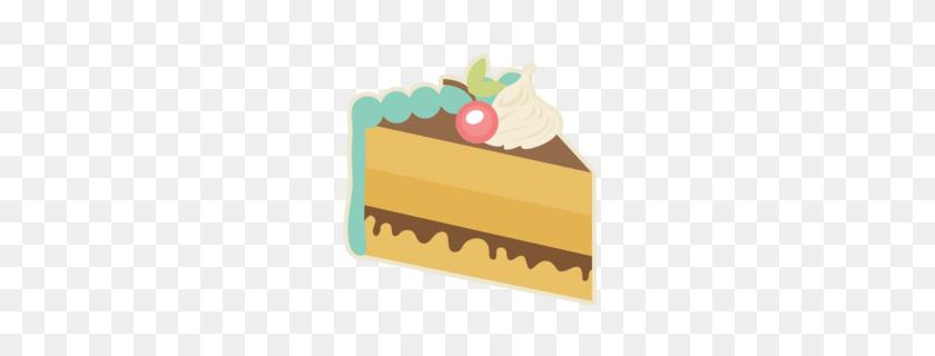Pound Cake Slices Clipart - Bundt Cake Clip Art