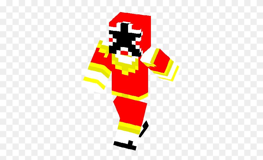 Power Ranger Zeo Red Skin Minecraft Skins - Red Power Ranger Clipart