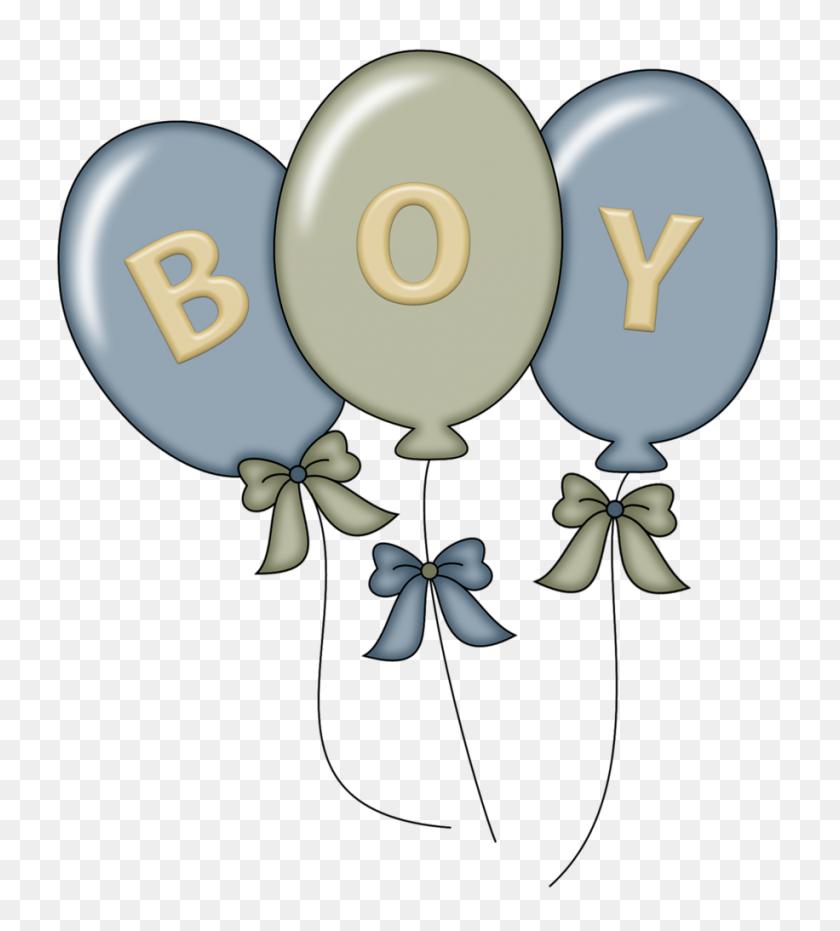 Pps Boy Balloons Clipart Baby Baby, Boys - Baby Shower Clip Art Boy