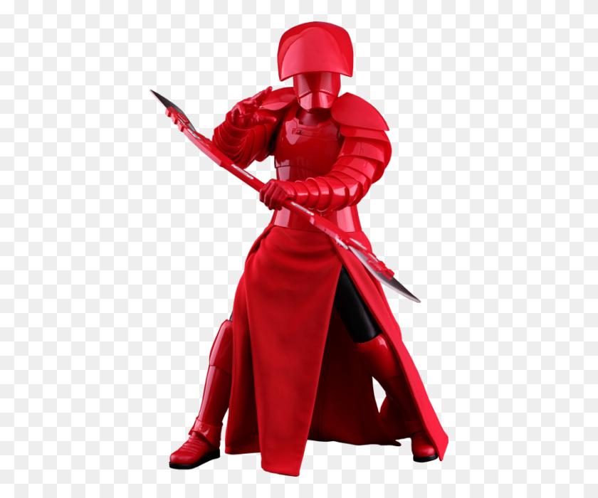Praetorian Guard Double Blade Figure Last Jedi Star - Star Wars The Last Jedi PNG