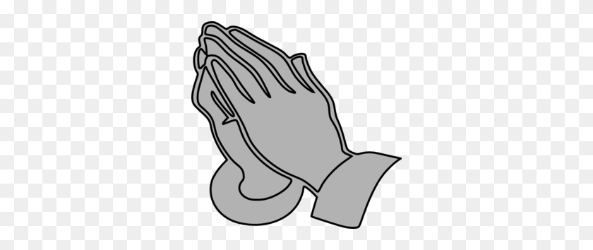 Praying Hands Clip Art Black And White - Safety Clipart Black And White