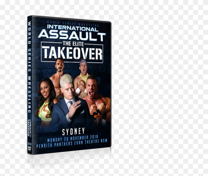 Pre Order Ia Elite Takeover Sydney World Series Wrestling - Marty Scurll PNG