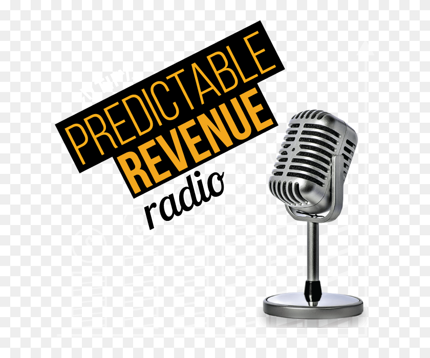 Predictable Revenue Radio Altify Radio Podcast - Radio Mic PNG