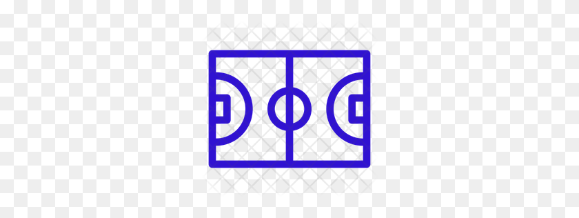 Premium Basketball Court Icon Download Png - Basketball Court PNG