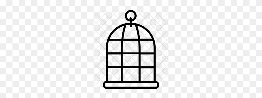 Premium Birdcage Icon Download Png - Bird Cage PNG