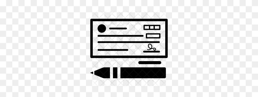 Bank check line icon, finance and ... | Stock-Vektor | Colourbox