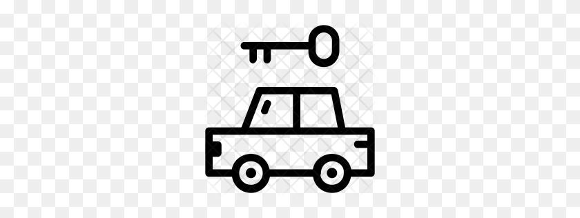 Premium Car Key Icon Download Png - Car Key PNG