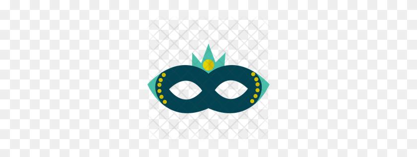 Premium Casanova Mask Icon Download Png - Mardi Gras Mask PNG