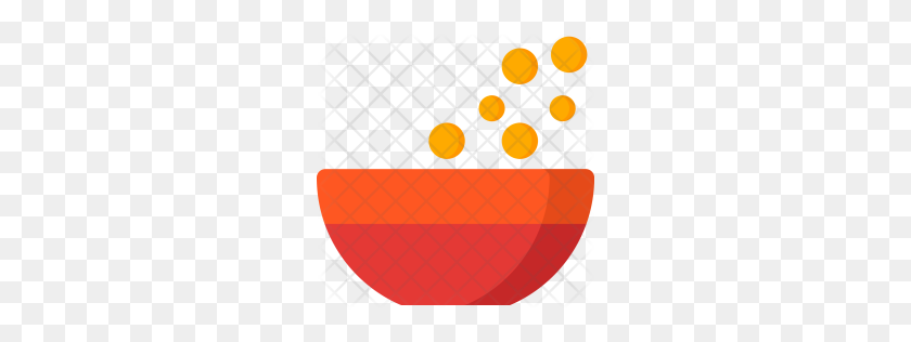 Premium Cereals, Bahery, Bowl, Kitchen, Food, Eat Icon Download - Cereal Bowl PNG