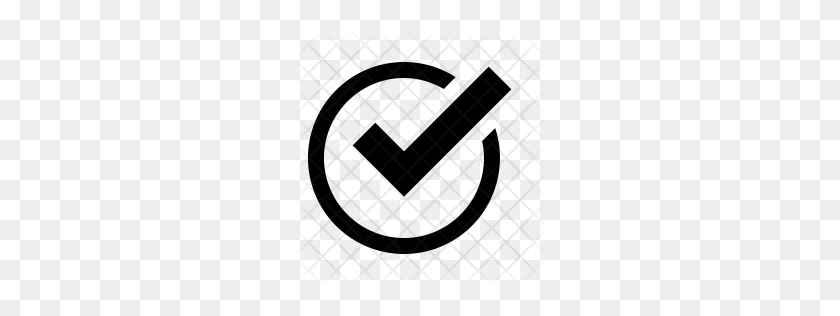 Premium Checkmark Icon Download Png - White Checkmark PNG