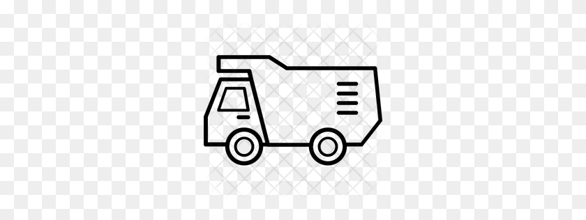 Premium Construction Truck Icon Download Png - Truck Icon PNG