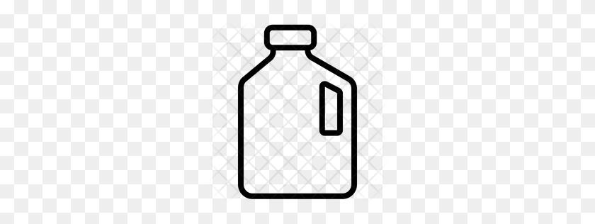 Premium Gallon Icon Download Png - Gallon Of Milk Clipart